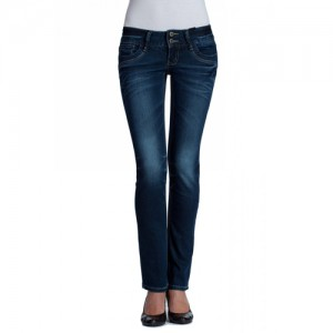 Dark Wash Straight Leg Denim Jeans für Ihren Großhandel